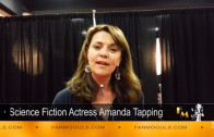 Fan Moguls TV: Amanda Tapping's 'Shout-out' to FAN MOGULS