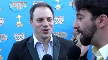 Fan Moguls TV: 41st Saturn Awards with Geoff Johns & host Zak Vaudo