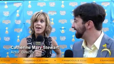 Fan Moguls TV : 41st Saturn Awards with Catherine Mary Stewart & host Zak Vaudo