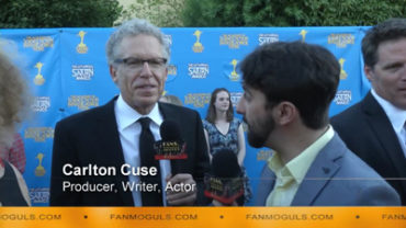 Fan Moguls TV : 41st Saturn Awards with producer, writer, actor Carlton Cuse and host Zak Vaudo