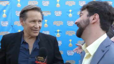 Fan Moguls TV : 41st Saturn Awards with actor James Remar and host Zak Vaudo