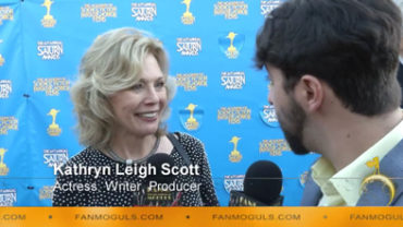 Fan Moguls TV : 41st Saturn Awards with actress, writer, producer Kathryn Leigh Scott and host Zak Vaudo