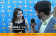 Fan Moguls TV : 41st Saturn Awards with actress and director Mackenzie Foy and host Zak Vaudo
