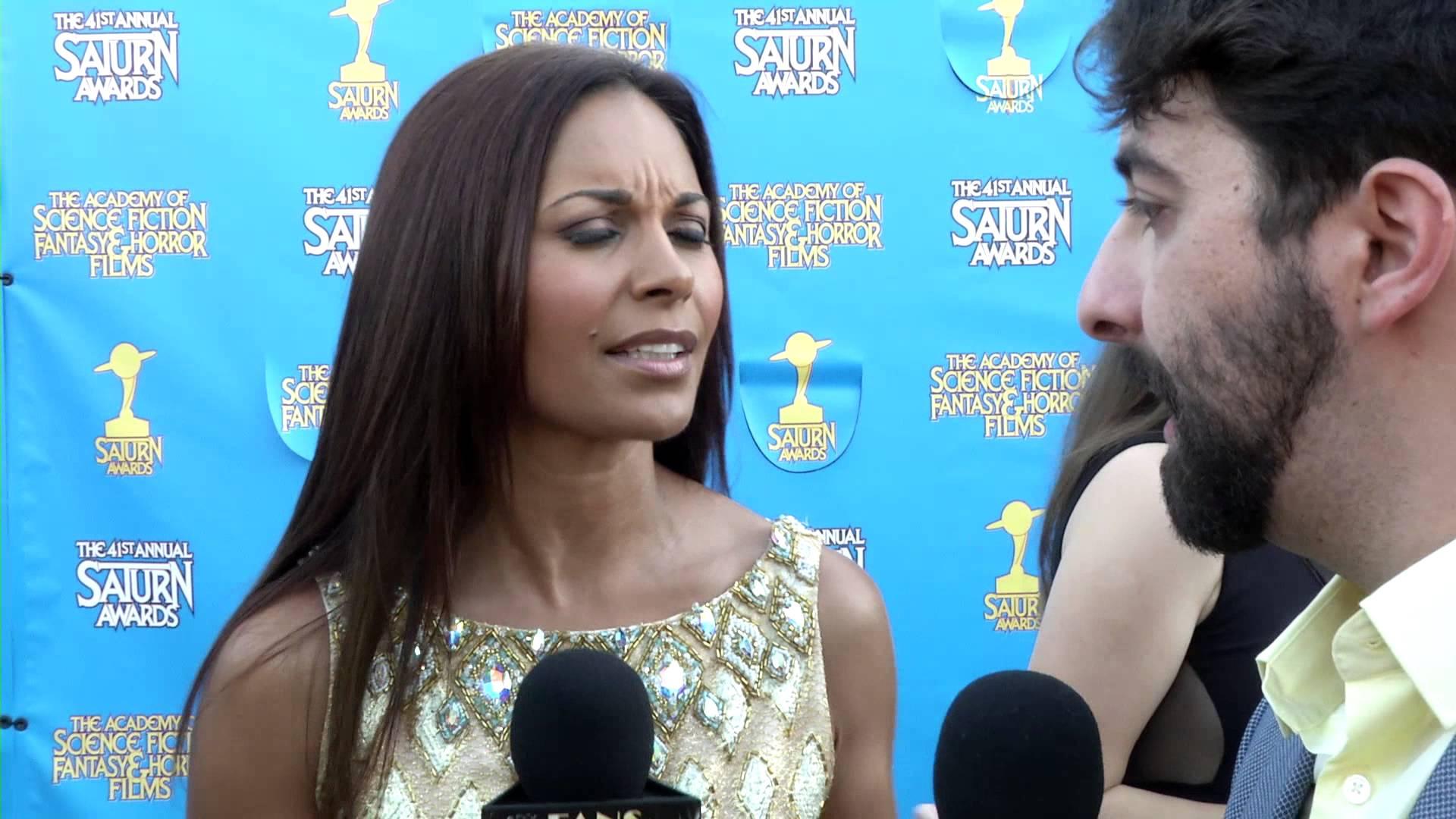 Fan Moguls Tv 41st Saturn Awards With Actress Salli Richardson